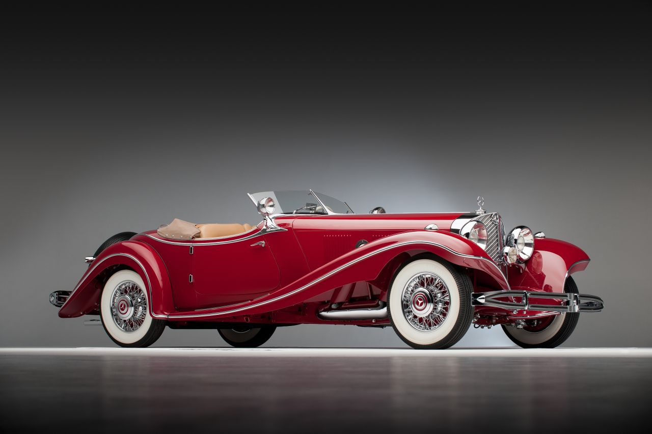 1937 mercedes benz 500 k roadster 100386967 - Mercedes car show ...