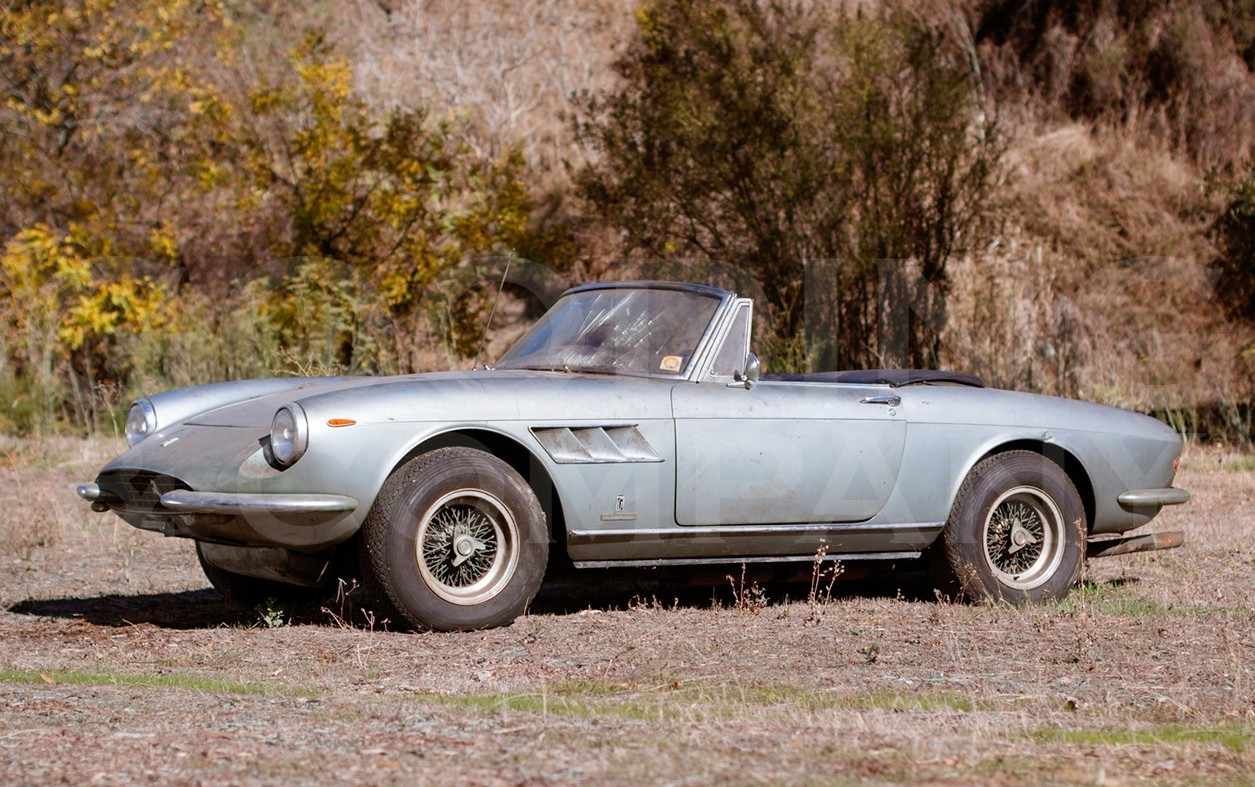 Quot Barn Find Quot Ferrari 330 Gts Expected To Fetch Large Sum At