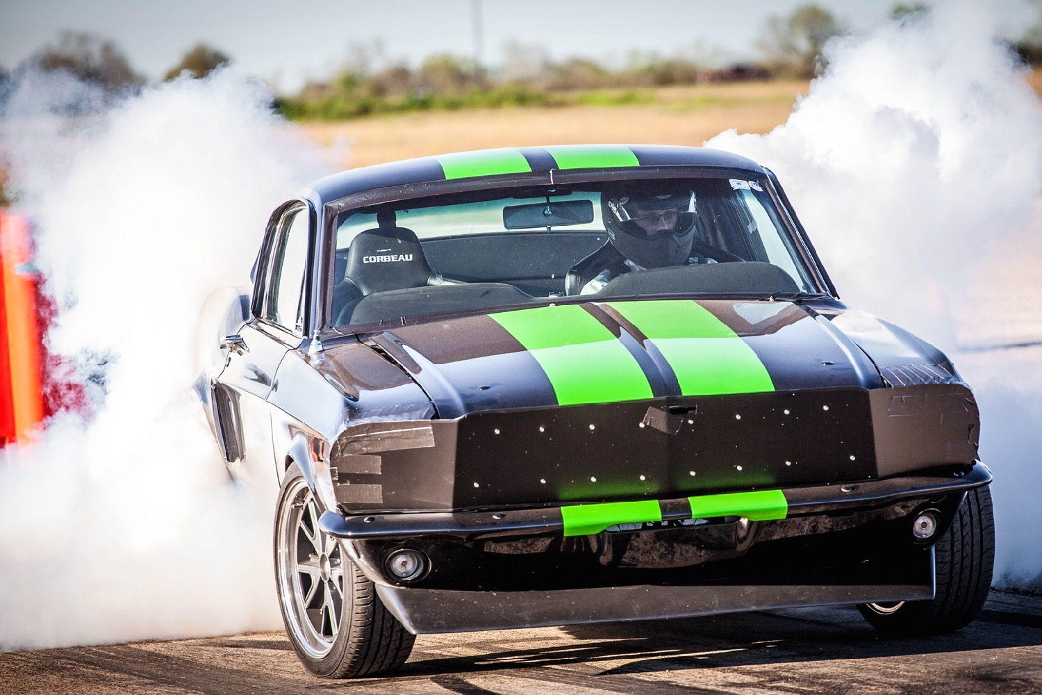 Ford Mustang Electric Drag Car Does 0 To 60 Mph Under 2