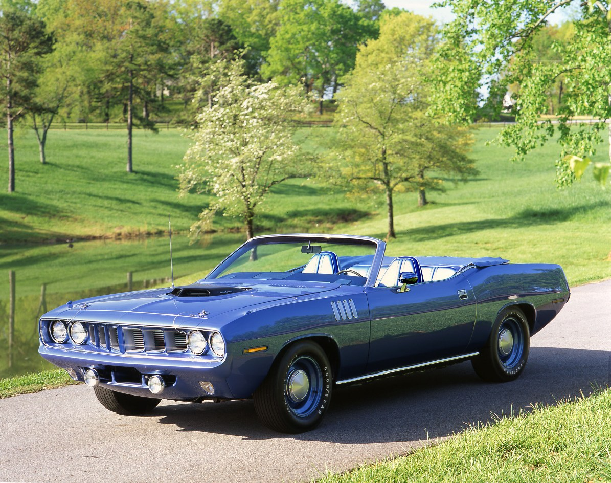 1971 Plymouth Hemi Barracuda Convertible
