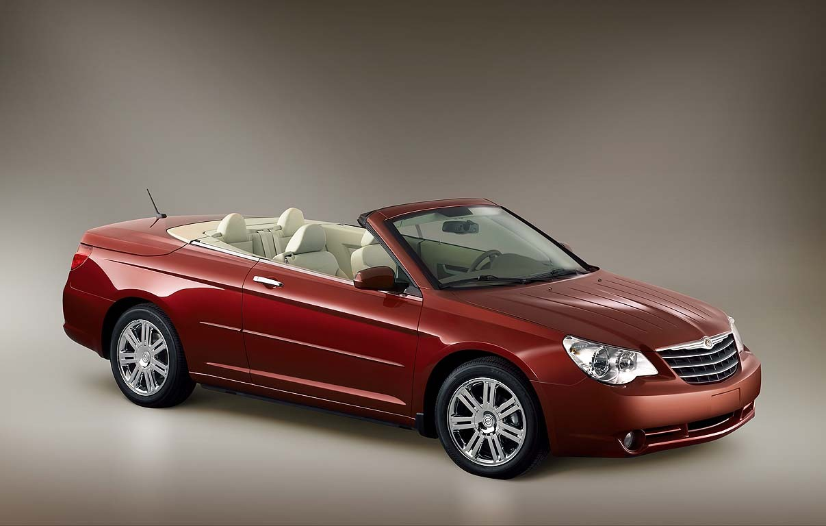 2008 chrysler sebring convertible review ratings specs prices and photos the car connection. Black Bedroom Furniture Sets. Home Design Ideas