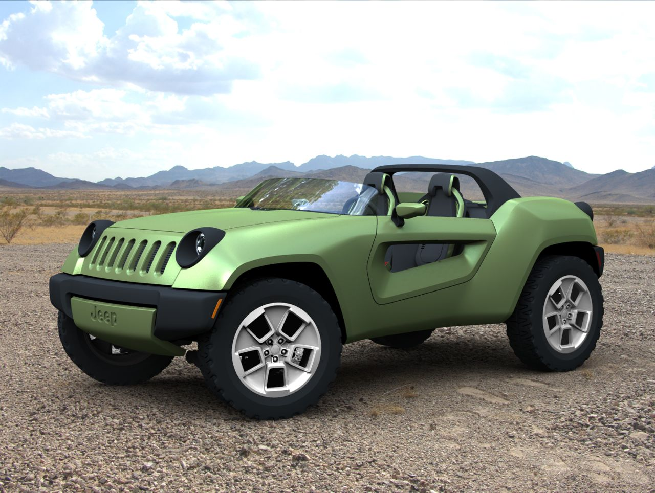 2008 jeep renegade concept 100012127. Black Bedroom Furniture Sets. Home Design Ideas