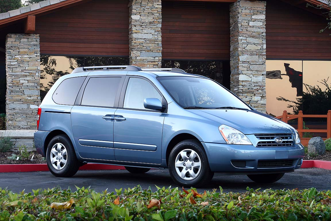 2008 kia sedona review ratings specs prices and photos. Black Bedroom Furniture Sets. Home Design Ideas