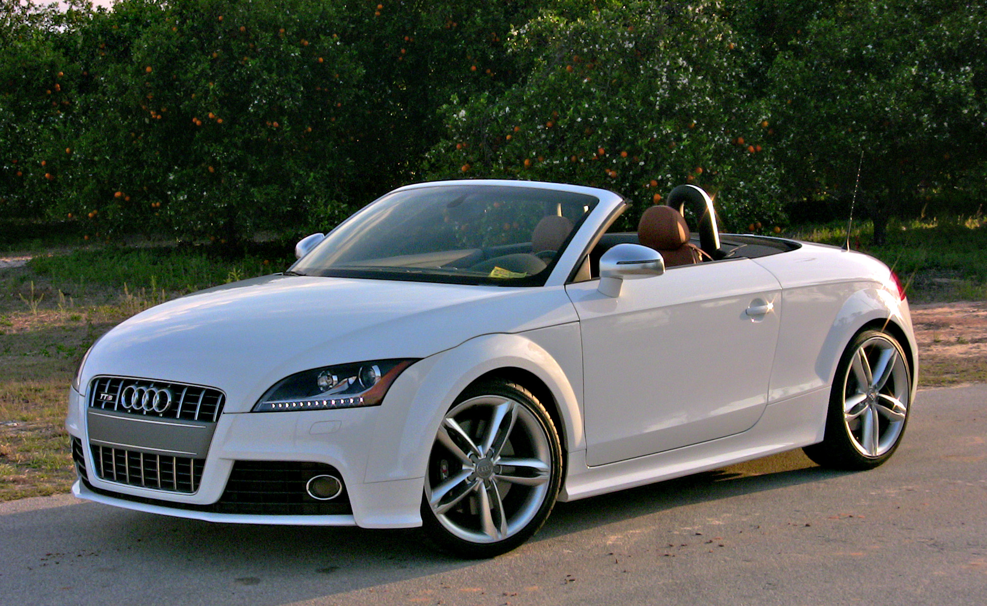 Pics Photos - Red Audi Tt Cabrio