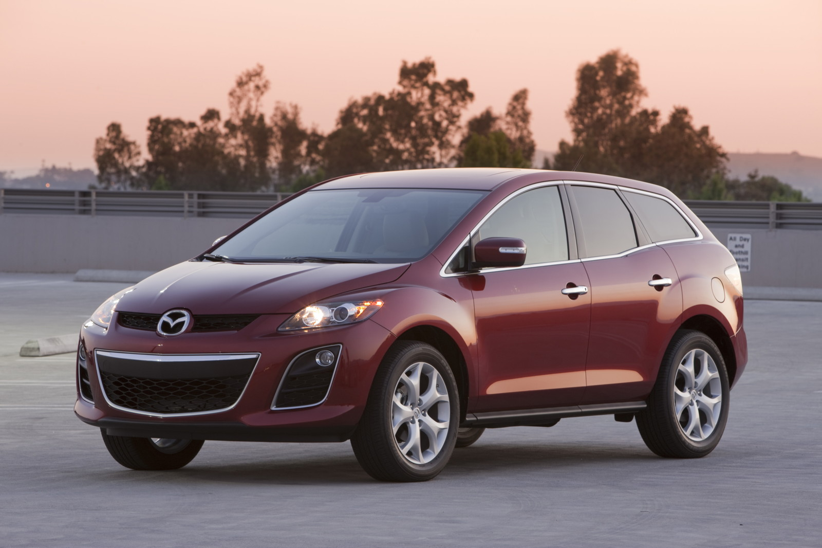 2010 mazda cx 7 review ratings specs prices and photos the car connection. Black Bedroom Furniture Sets. Home Design Ideas