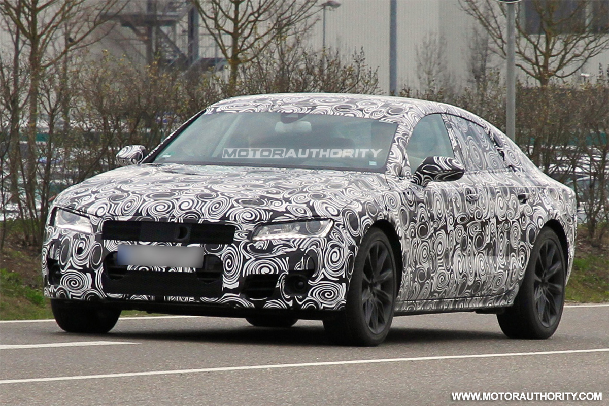 Report Audi RS 7 Coming With 580 HP V 10