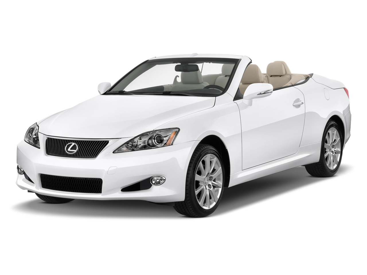 2011 Lexus Is 250c 2 Door Convertible Auto Angular Front