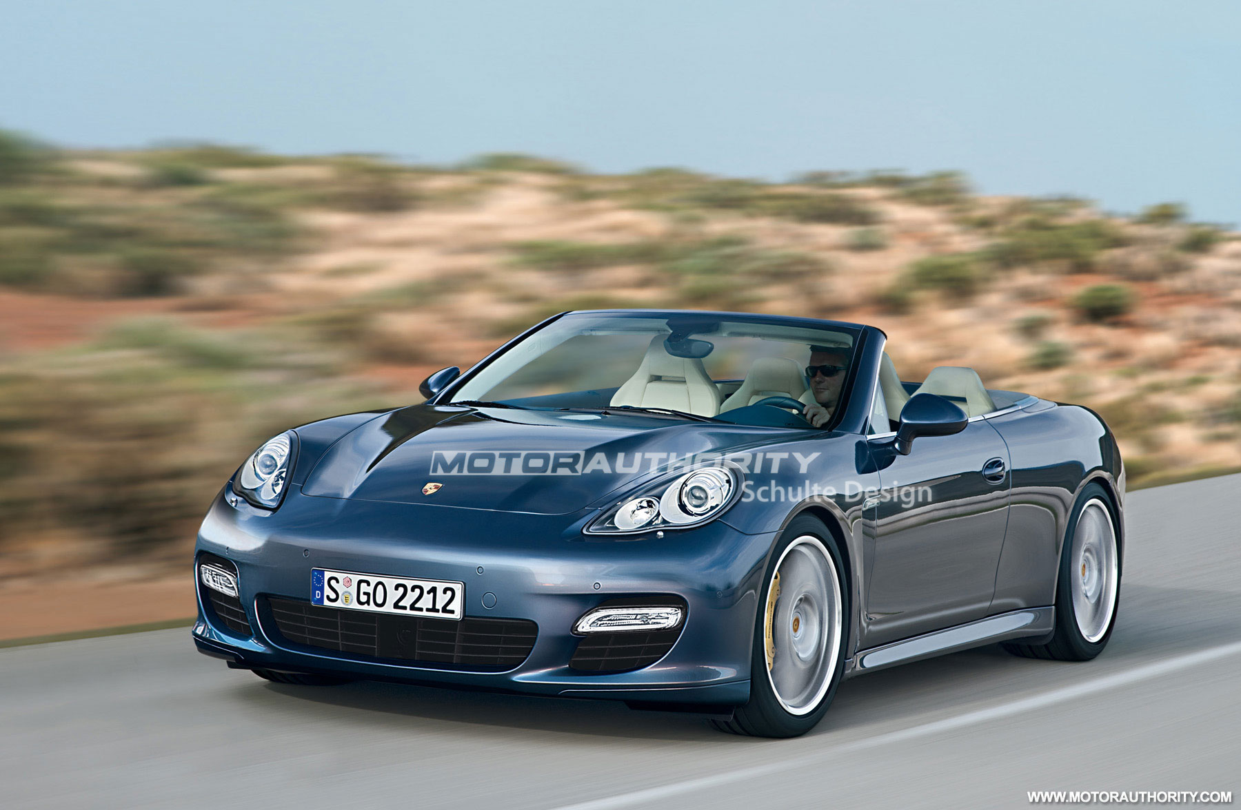 Persistent Rumor Porsche Panamera Convertible In The Works