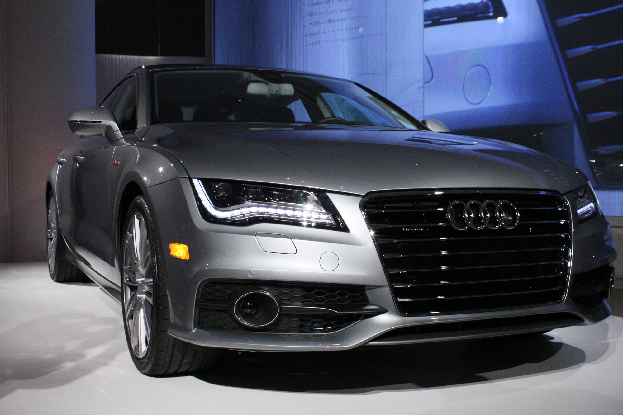 2012 audi a7 available in may s7 to follow. Black Bedroom Furniture Sets. Home Design Ideas
