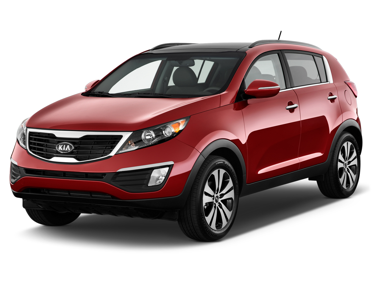 2012 kia sportage 2wd 4 door ex angular front exterior. Black Bedroom Furniture Sets. Home Design Ideas