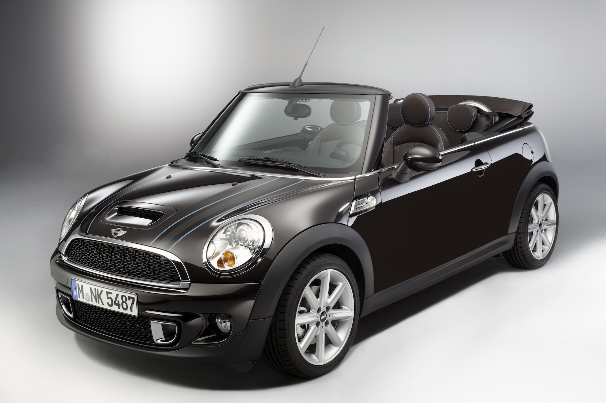 Mini Cooper Converitble Highgate Special Edition H on Alfa Romeo Spider Roof