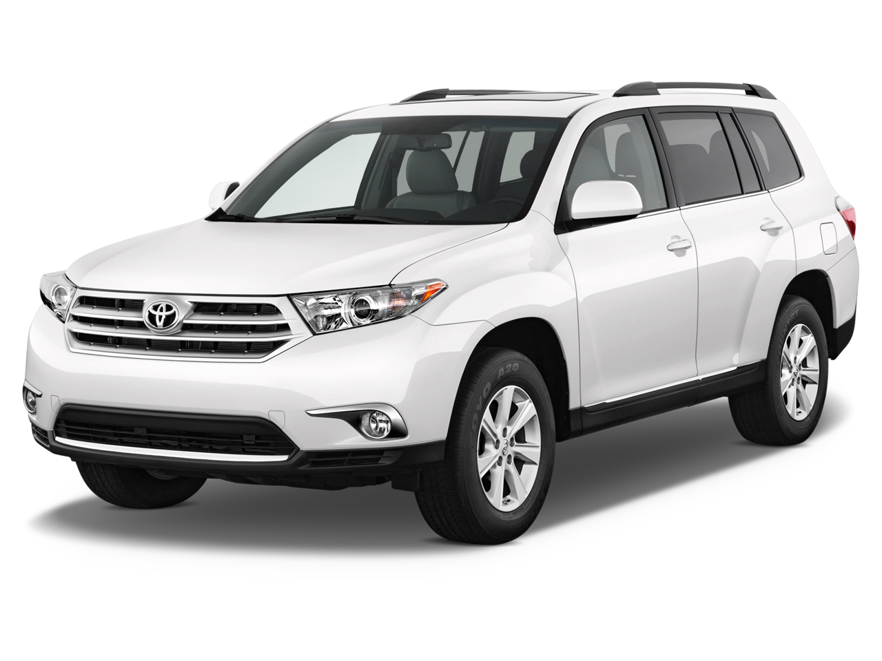 2012 toyota highlander review ratings specs prices and photos the car connection. Black Bedroom Furniture Sets. Home Design Ideas