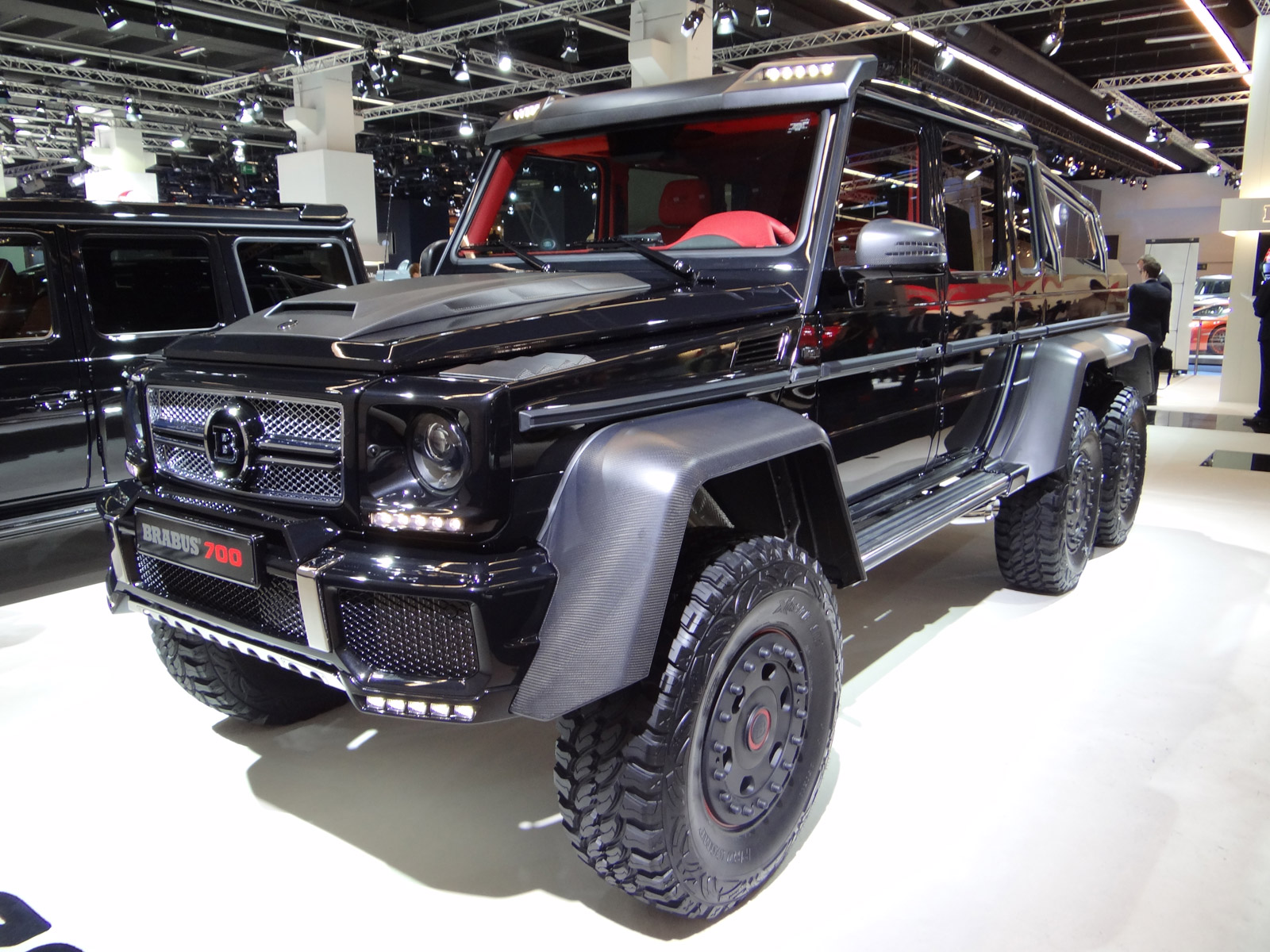 Brabus b63s porsche 918 spyder furai concept in flames for Mercedes benz amg 6x6 price