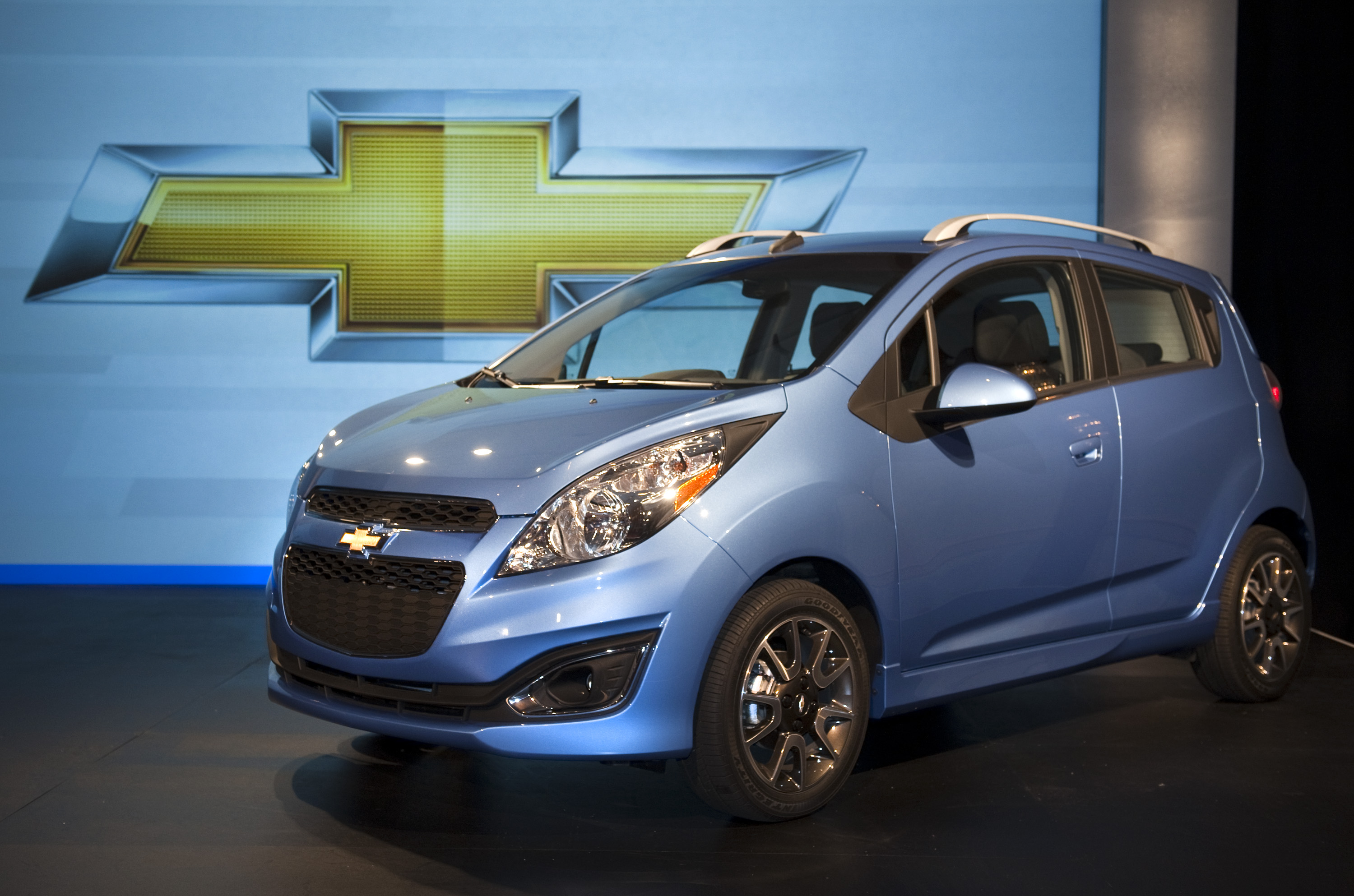 2013 Chevrolet Spark Minicar Unveiled In Detroit October