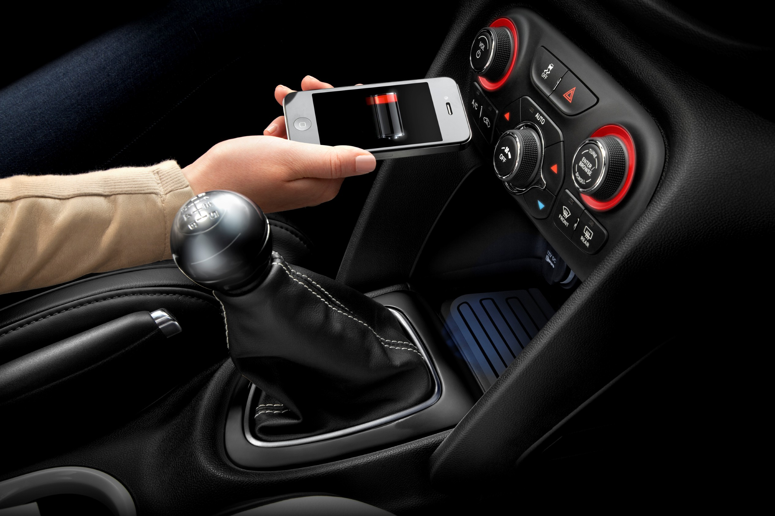 2013 dodge dart in car wireless charging accessory from. Black Bedroom Furniture Sets. Home Design Ideas