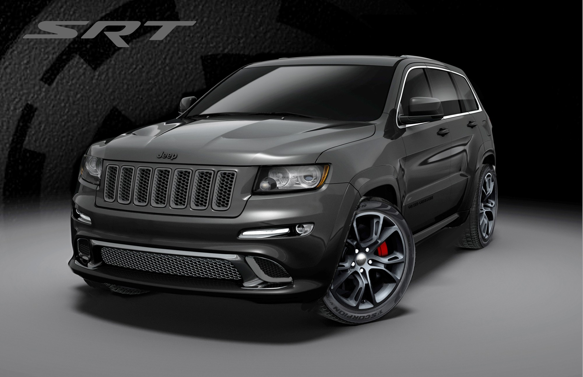 2013 jeep grand cherokee srt8 special editions alpine vapor. Black Bedroom Furniture Sets. Home Design Ideas