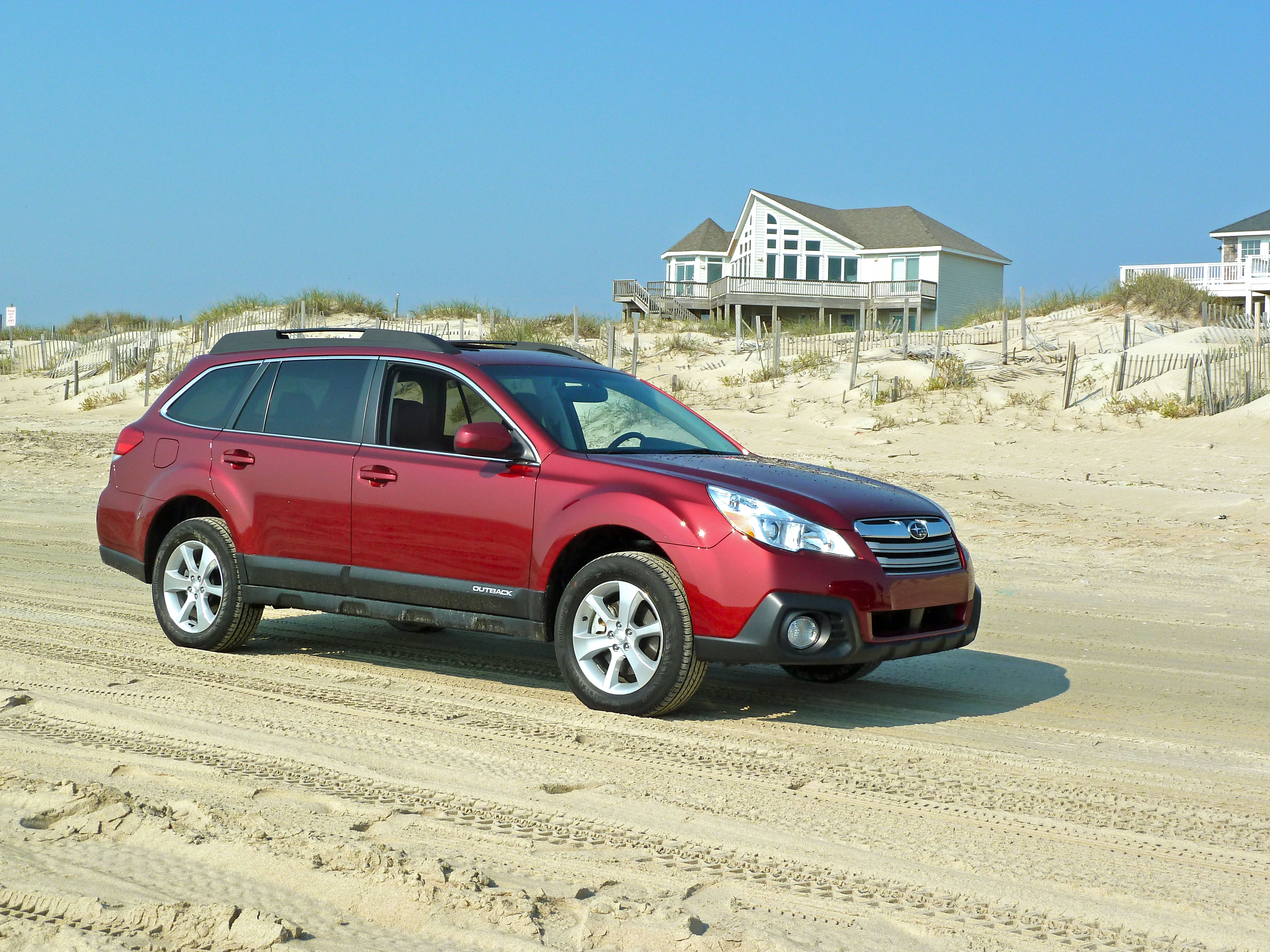 Subaru Eyesight 2013 Outback Outshines In Outer Banks