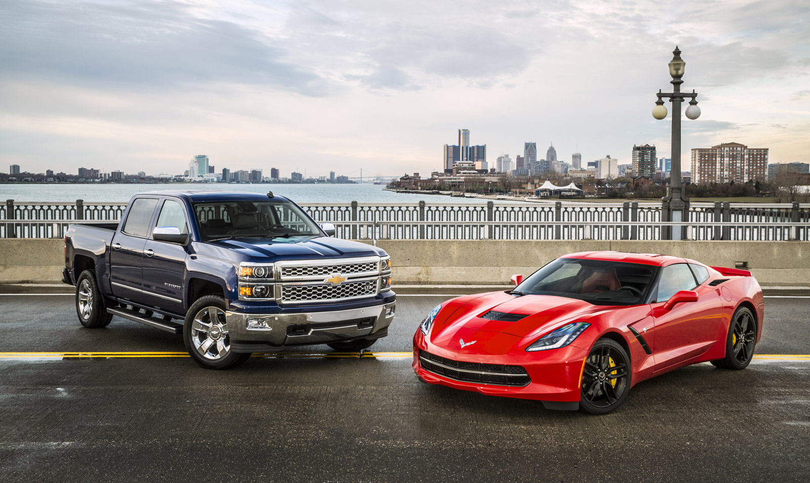 chevy corvette stingray and silverado named north american