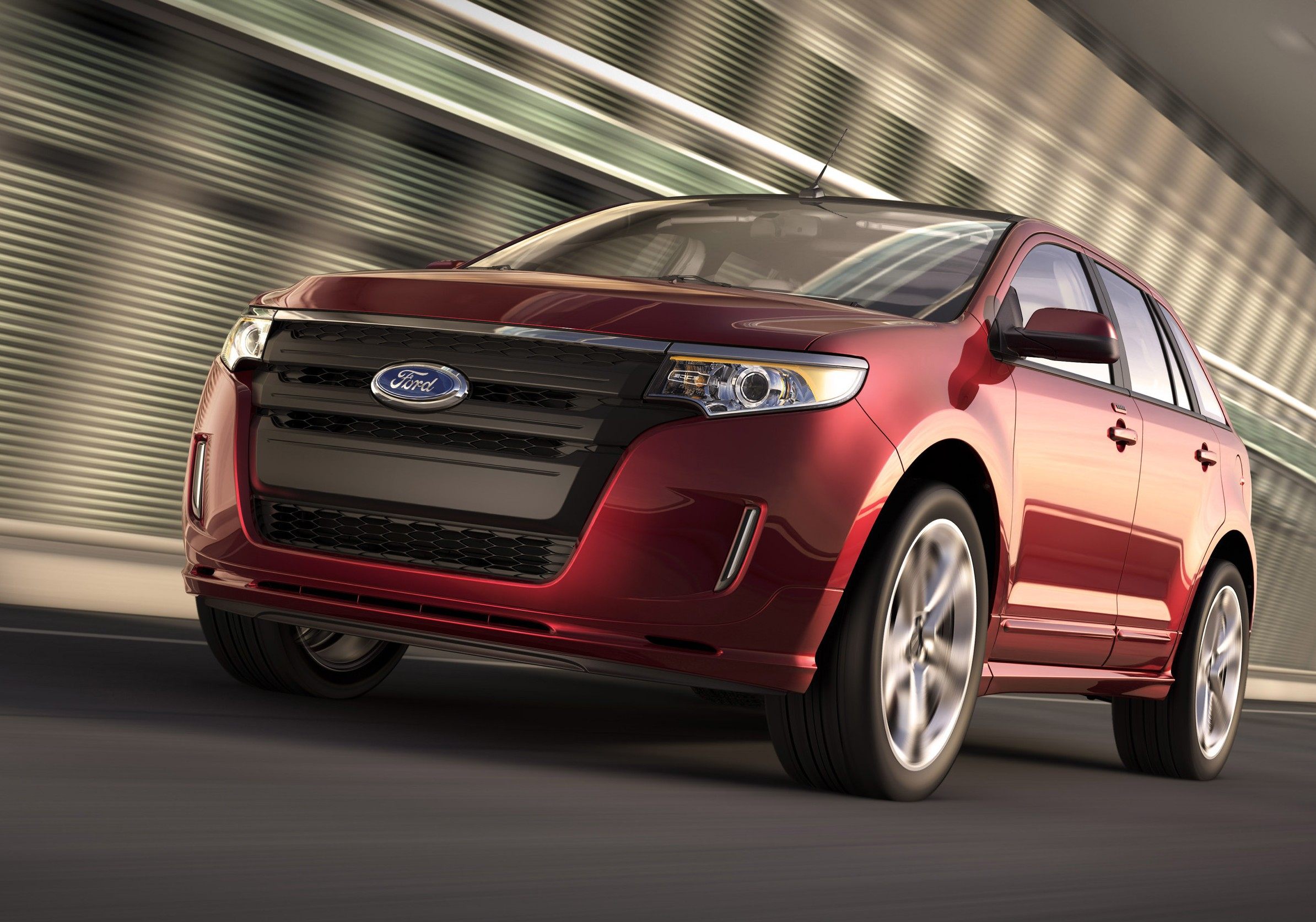 2014 ford edge gas mileage the car connection. Black Bedroom Furniture Sets. Home Design Ideas