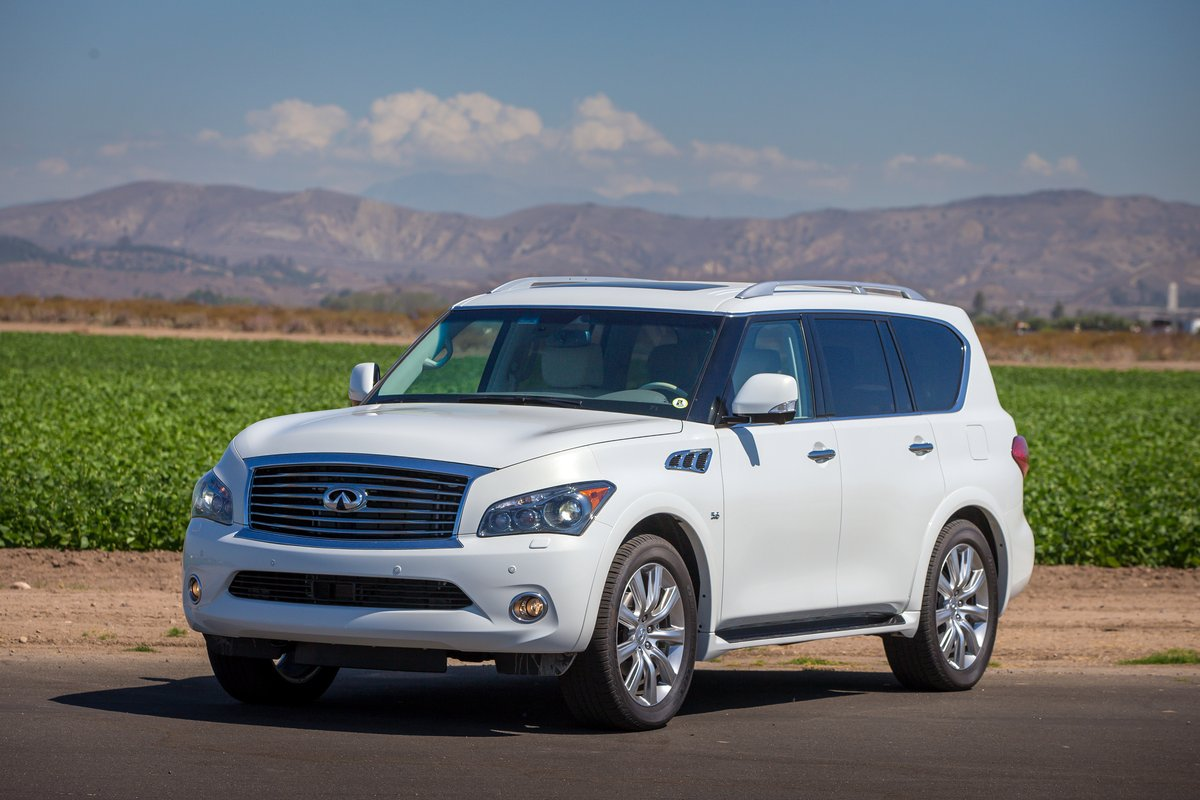new and used infiniti qx80 prices photos reviews specs the car connection. Black Bedroom Furniture Sets. Home Design Ideas