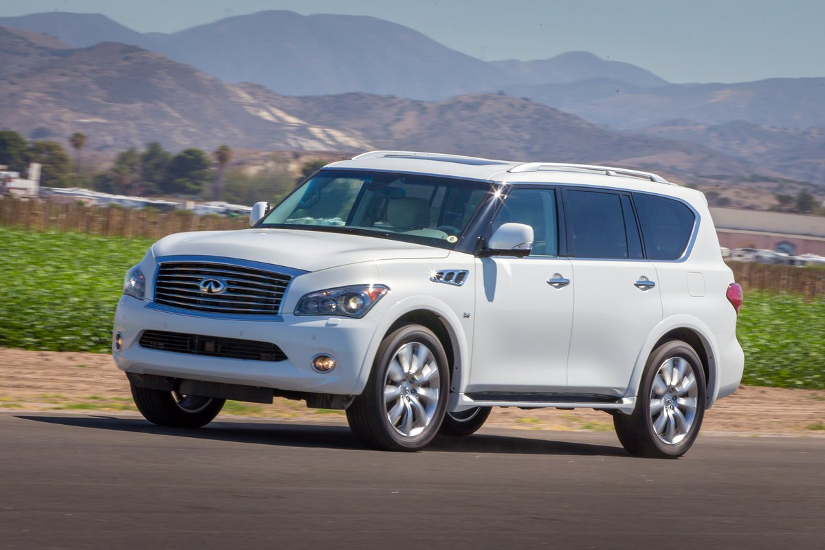 infiniti qx56 and qx80 recalled for airbag shrapnel worries. Black Bedroom Furniture Sets. Home Design Ideas