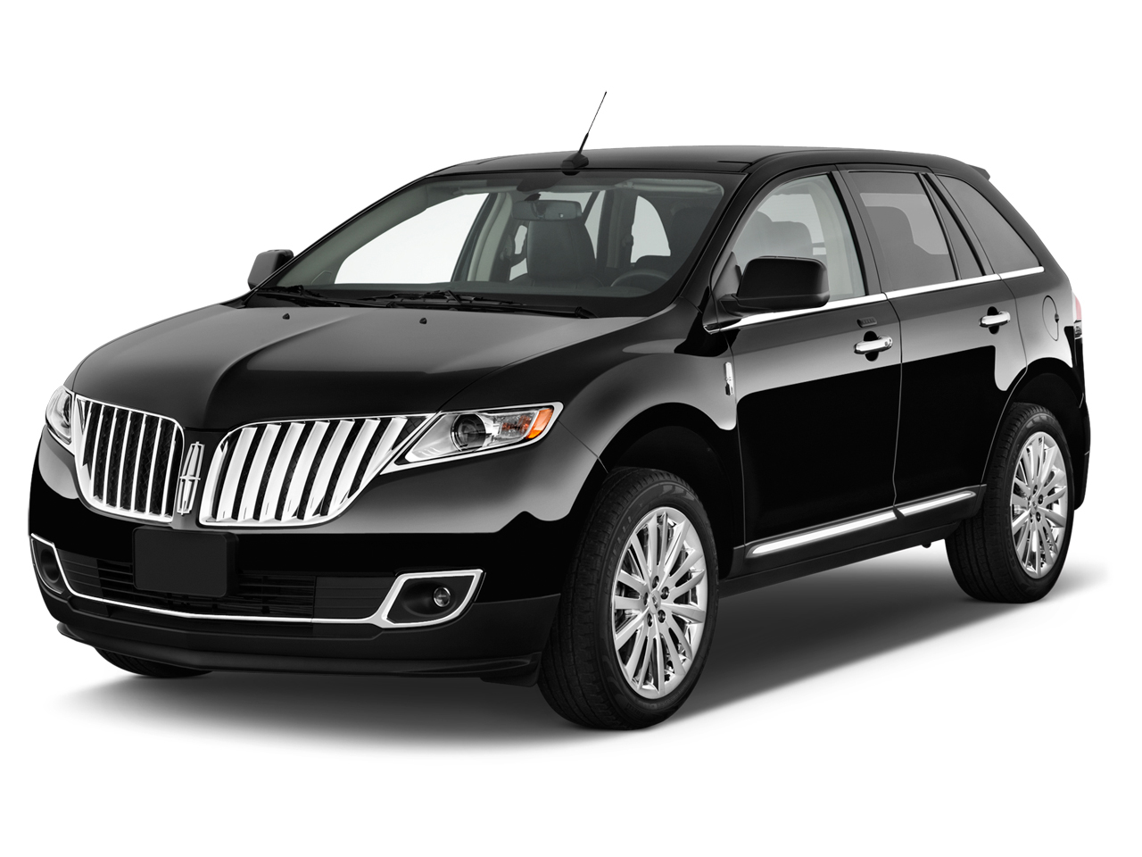 2014 Lincoln Mkx Fwd 4 Door Angular Front Exterior View