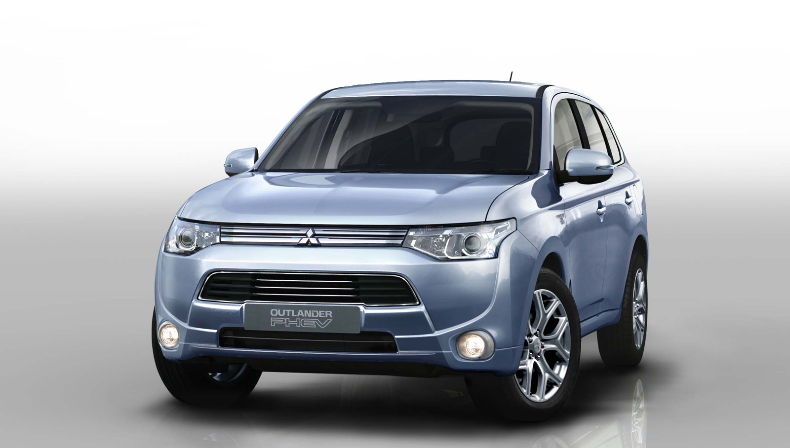 2014 mitsubishi outlander phev preview 2012 paris auto show. Black Bedroom Furniture Sets. Home Design Ideas
