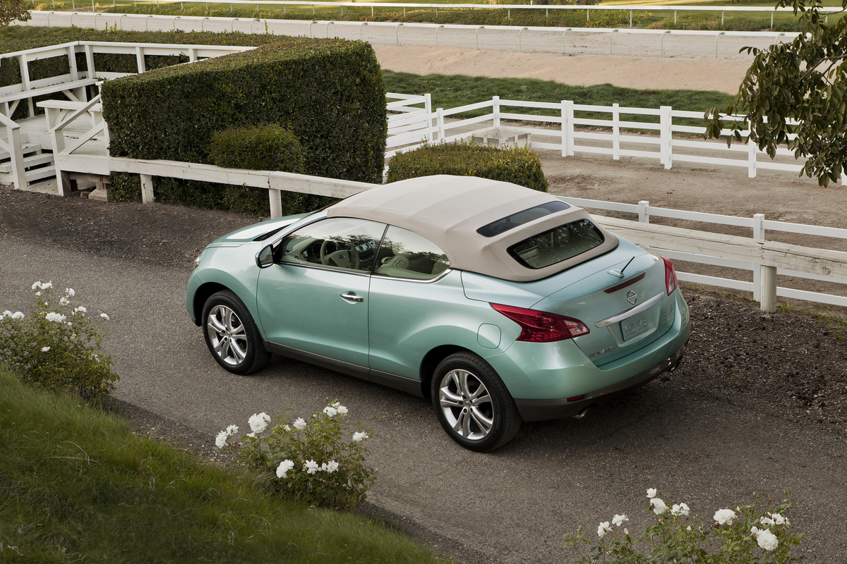 new and used nissan murano crosscabriolet prices photos reviews specs the car connection. Black Bedroom Furniture Sets. Home Design Ideas