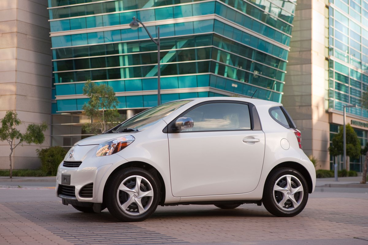 2014 scion iq review ratings specs prices and photos the car connection. Black Bedroom Furniture Sets. Home Design Ideas