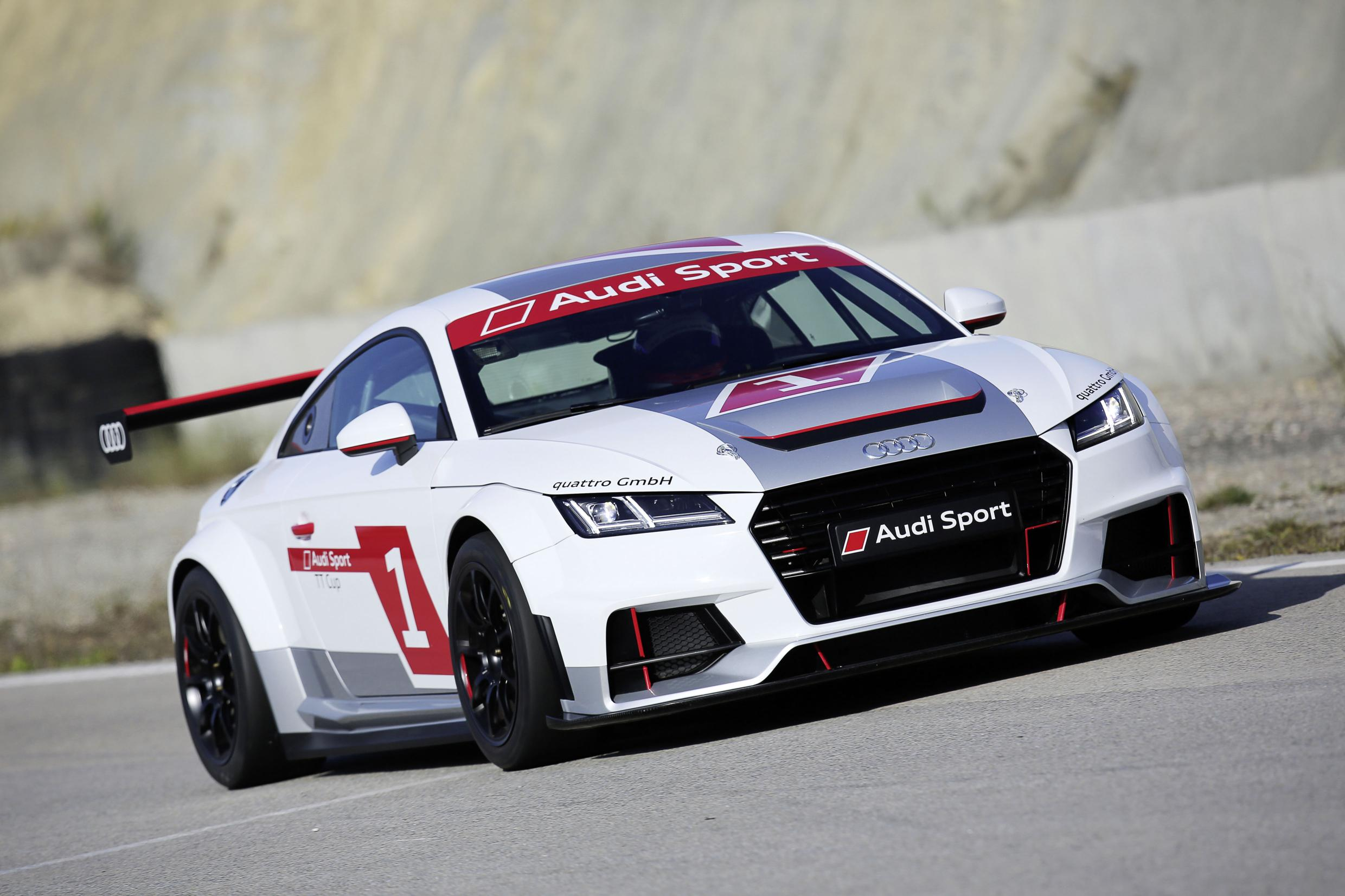 audi tt gets its own racing series video. Black Bedroom Furniture Sets. Home Design Ideas