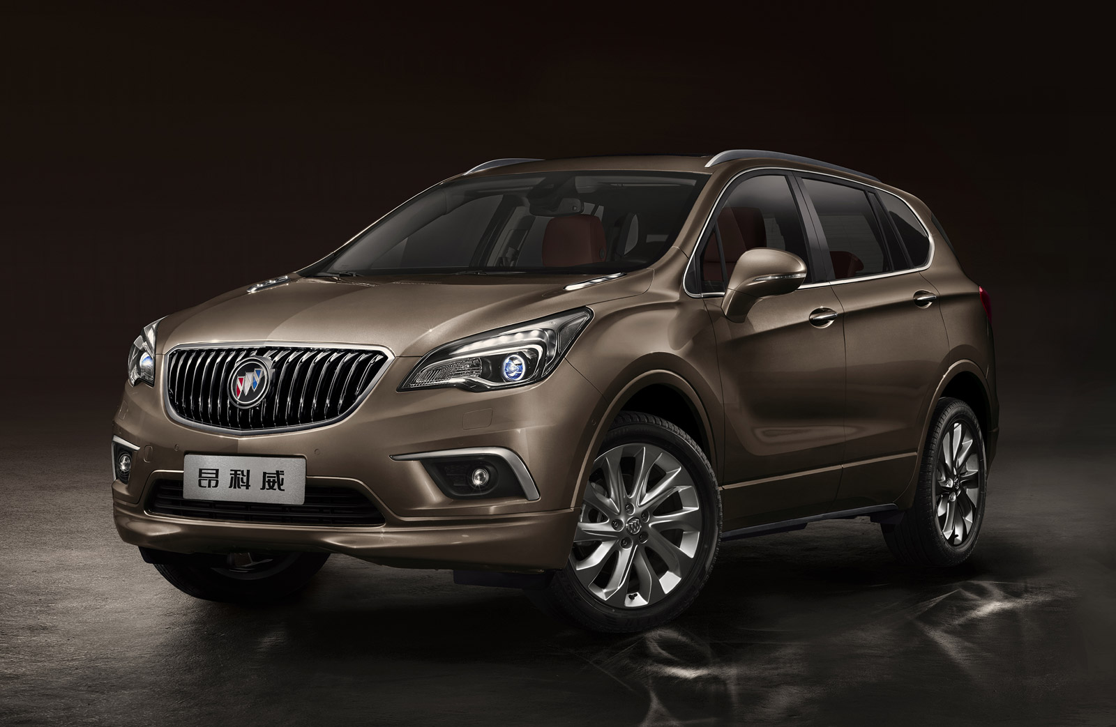 2015 Buick Envision Compact Crossover Unveiled In China