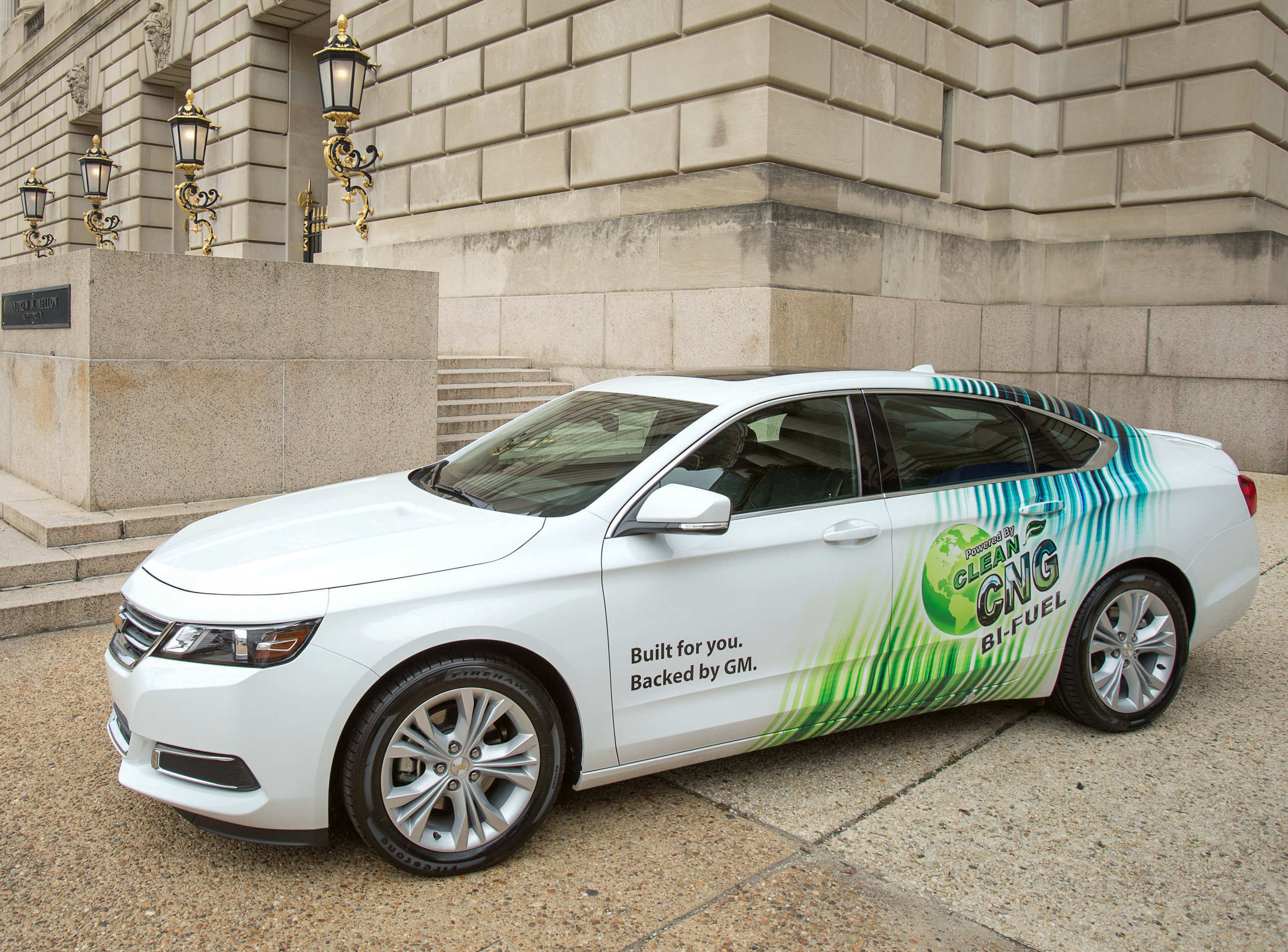 2015 Chevrolet Impala To Be Offered As Bi-Fuel Model With