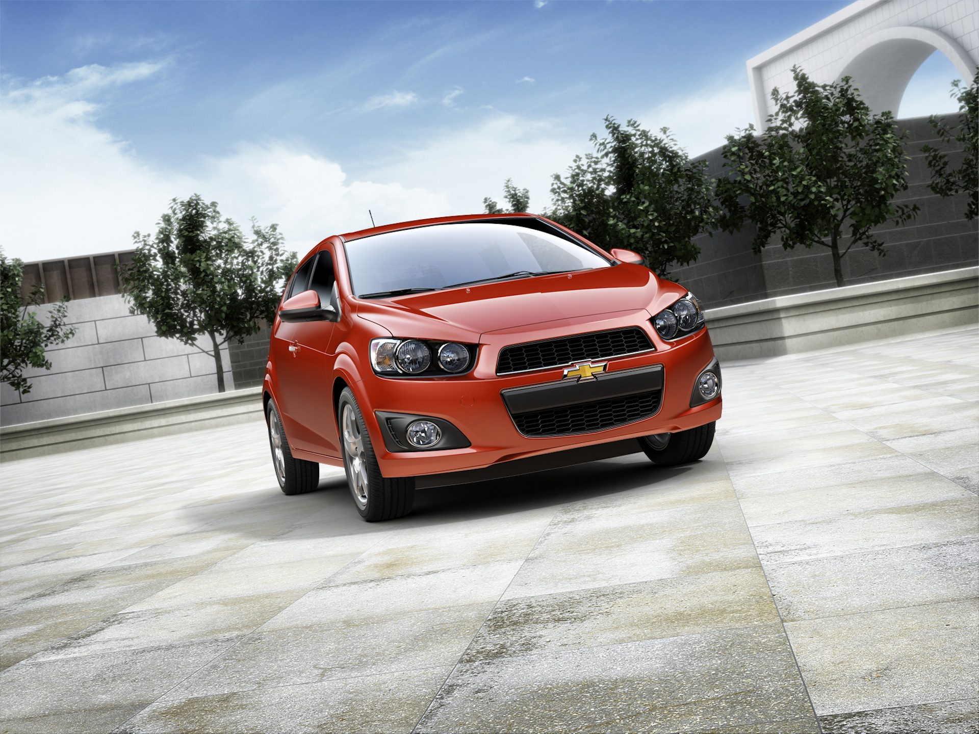 Chevrolet Sonic Owners Manual: Recreational Vehicle Towing