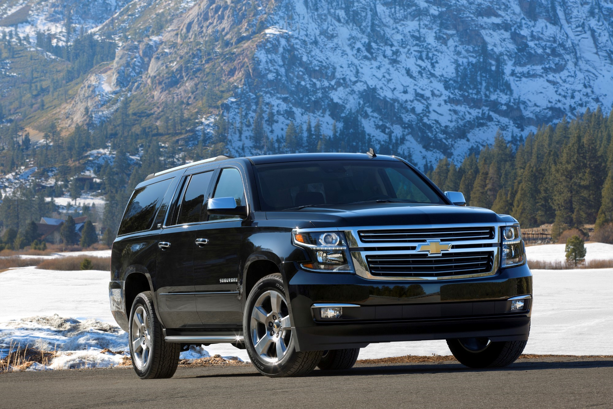 2015 chevrolet suburban chevy review ratings specs prices and photos the car connection. Black Bedroom Furniture Sets. Home Design Ideas