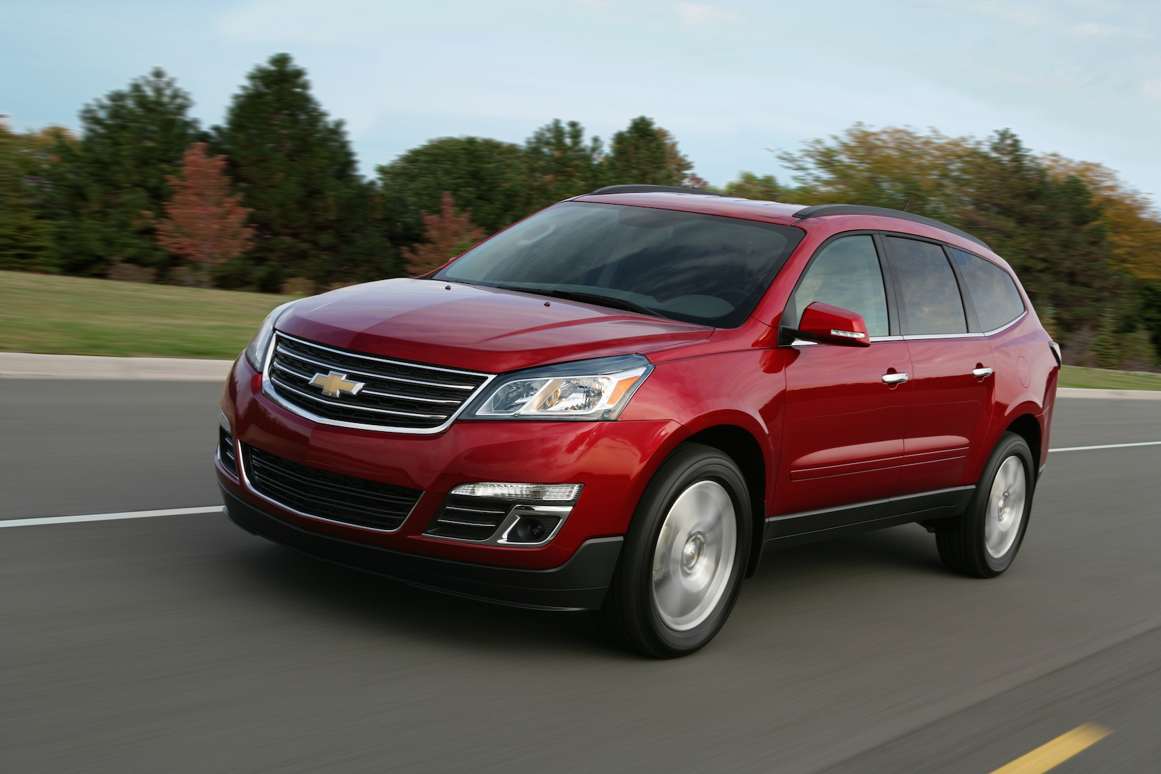 2015 chevrolet traverse chevy review ratings specs prices and photos the car connection. Black Bedroom Furniture Sets. Home Design Ideas