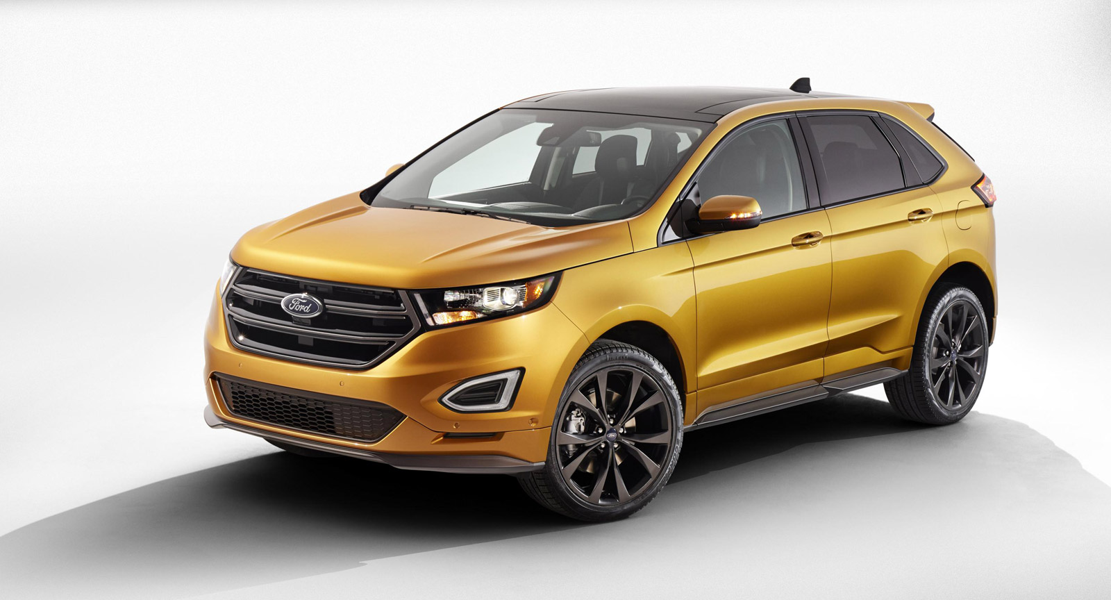 2015 ford edge revealed comes standard with ecoboost video. Black Bedroom Furniture Sets. Home Design Ideas