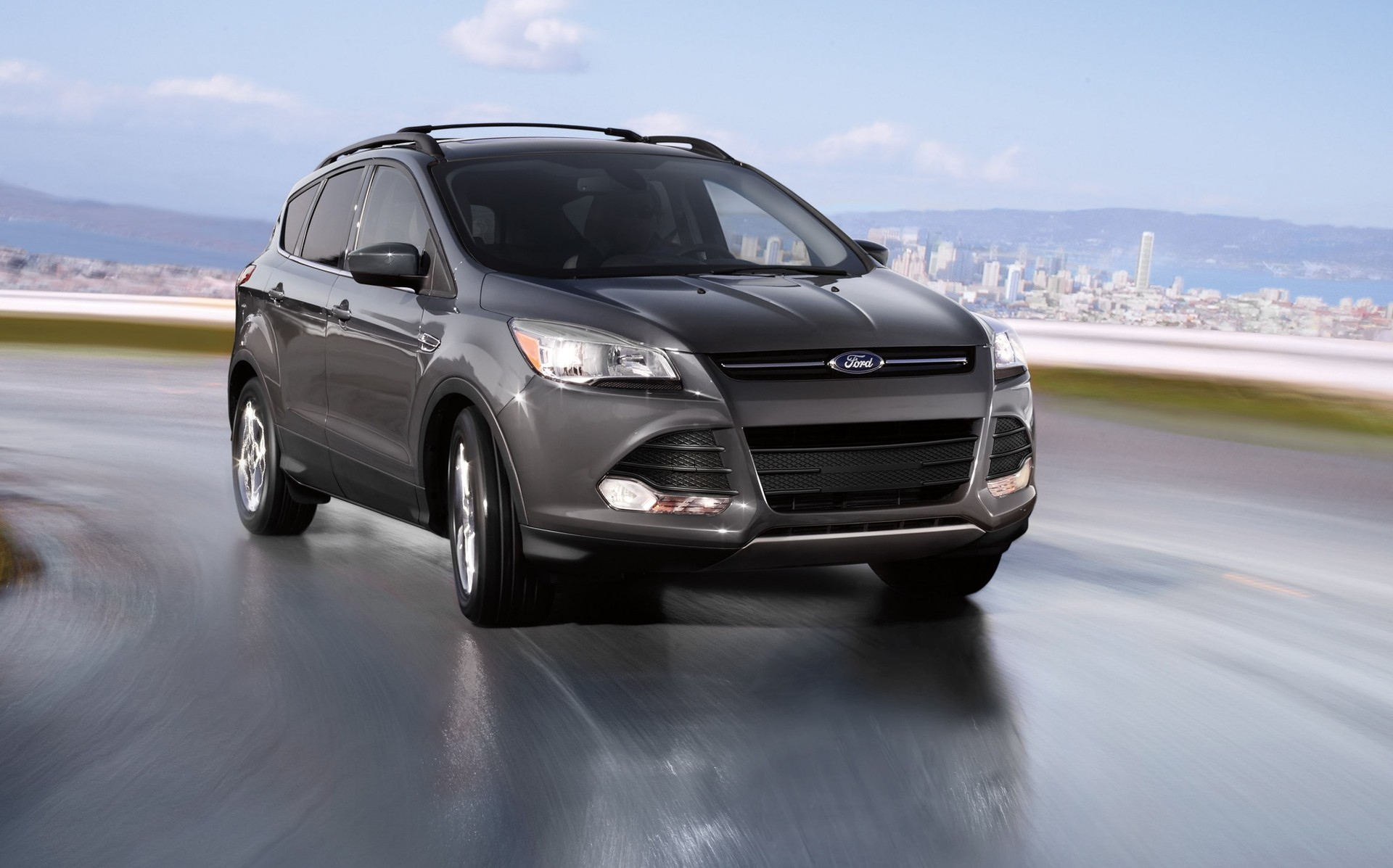 2015 ford escape gas mileage the car connection. Black Bedroom Furniture Sets. Home Design Ideas