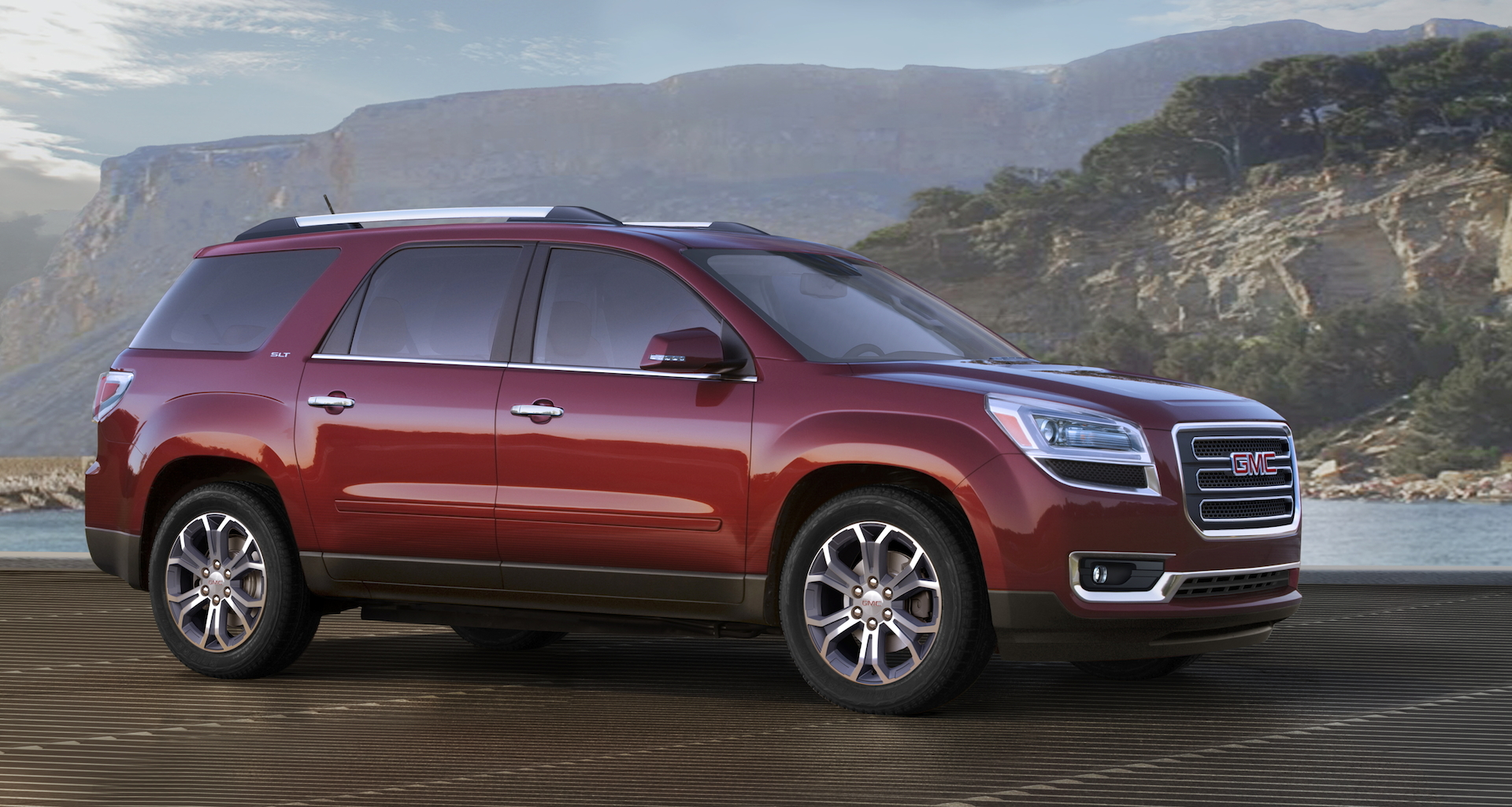 acadia review ratings specs prices and photos   the car connection
