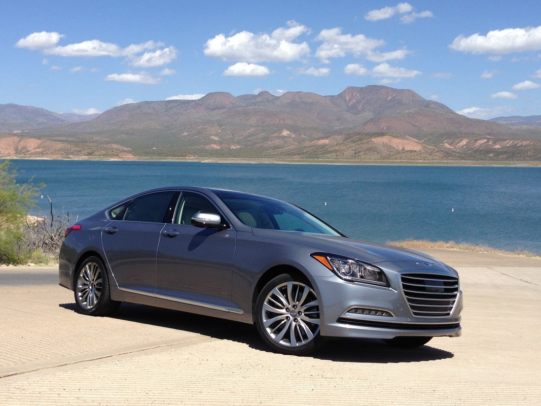 2015 hyundai genesis review ratings specs prices and photos the car connection. Black Bedroom Furniture Sets. Home Design Ideas