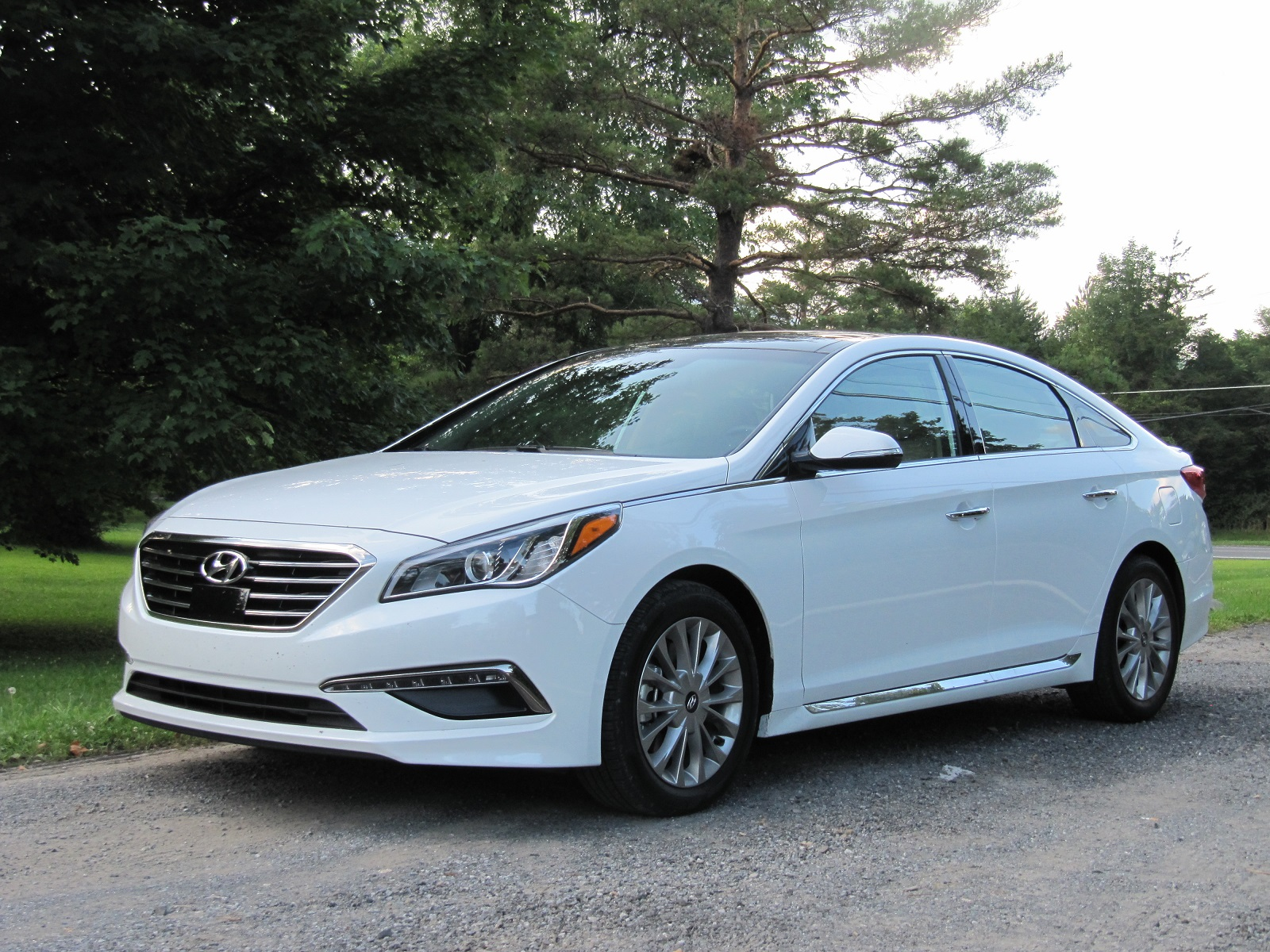 2015 Hyundai Sonata Gas Mileage Review Of New Mid Size Sedan