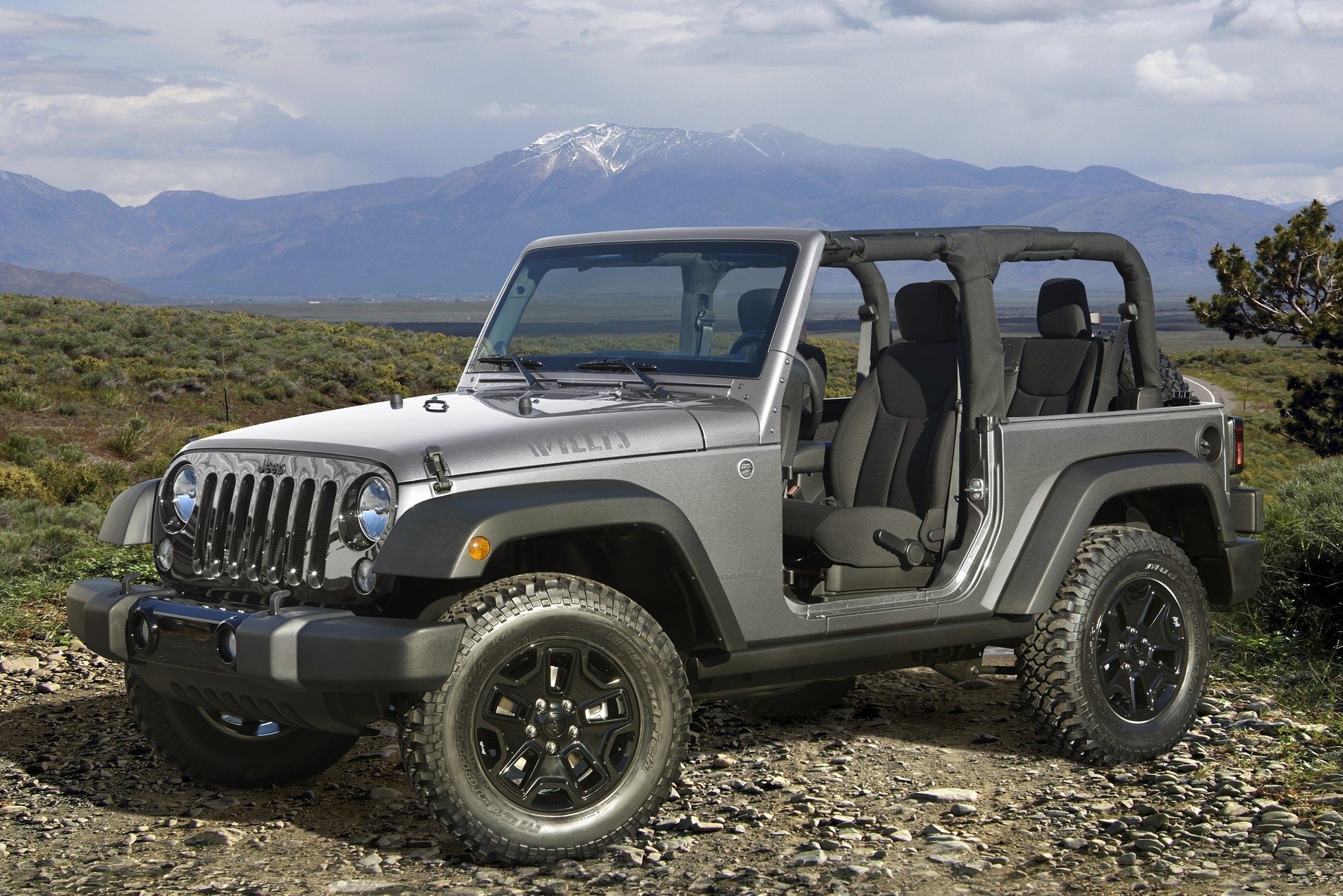 2007 to Present Jeep Wrangler. Gross Weight