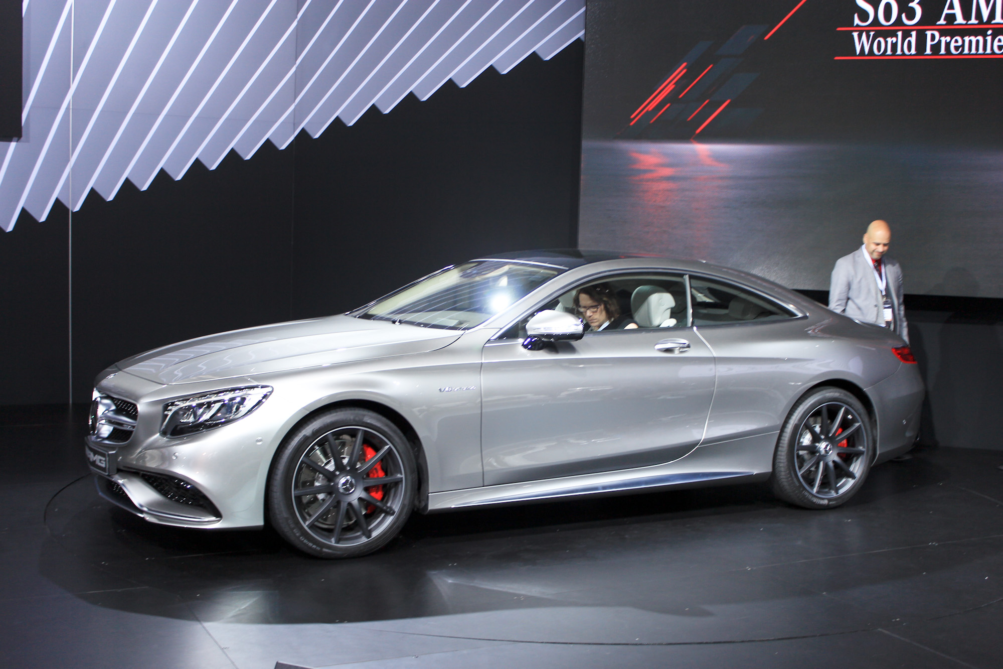2015 mercedes benz s63 amg coupe 2014 new york auto show for Mercedes benz of new york