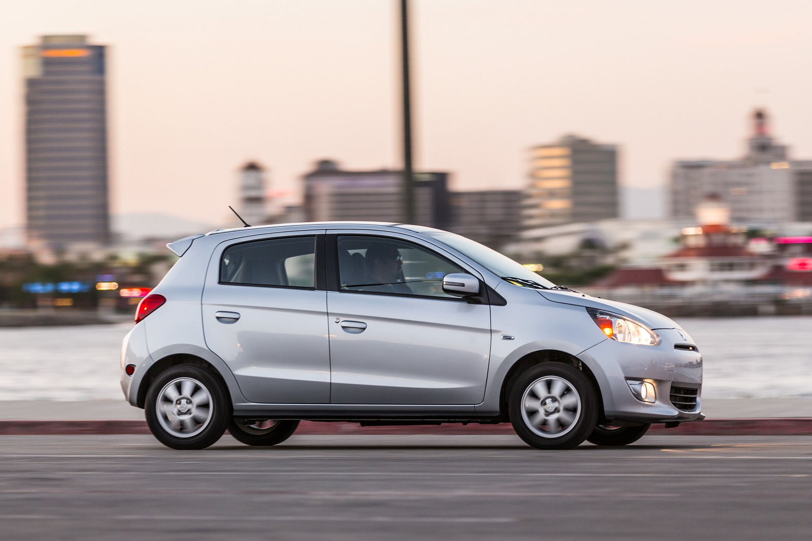 2015 Mitsubishi Mirage Minicar Scores Well On Federal