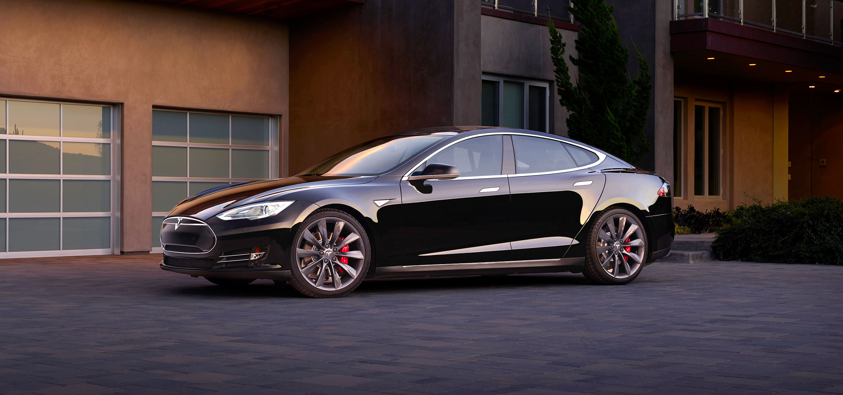 2015 tesla model s styling review the car connection. Black Bedroom Furniture Sets. Home Design Ideas