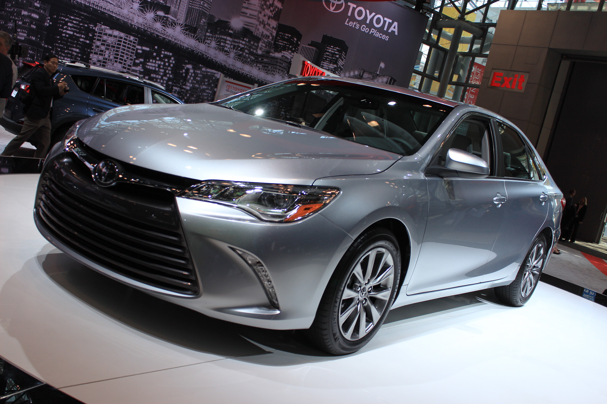 2015 Toyota Camry Video New York Auto Show