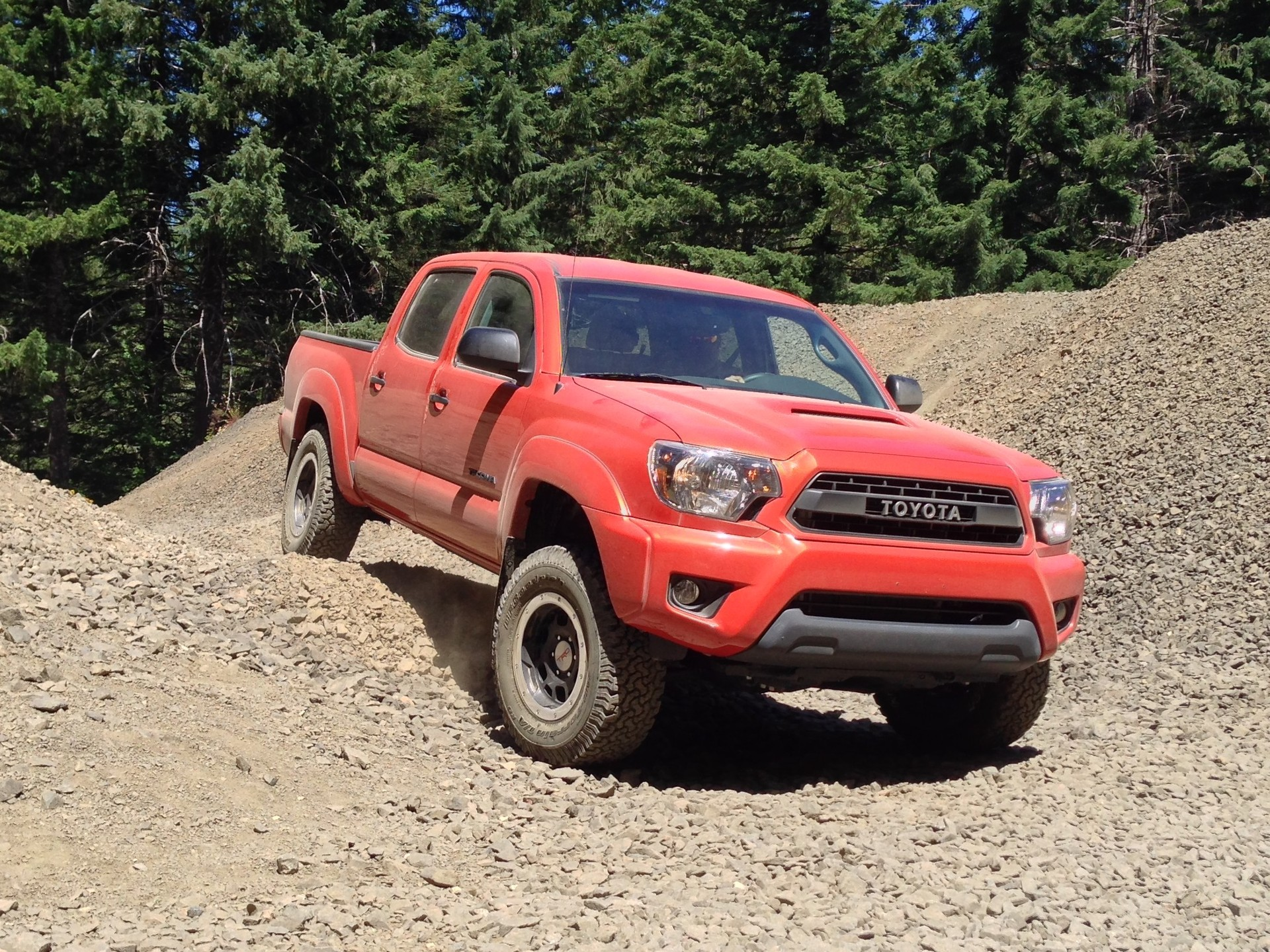 2015 toyota tacoma review ratings specs prices and photos the. Black Bedroom Furniture Sets. Home Design Ideas