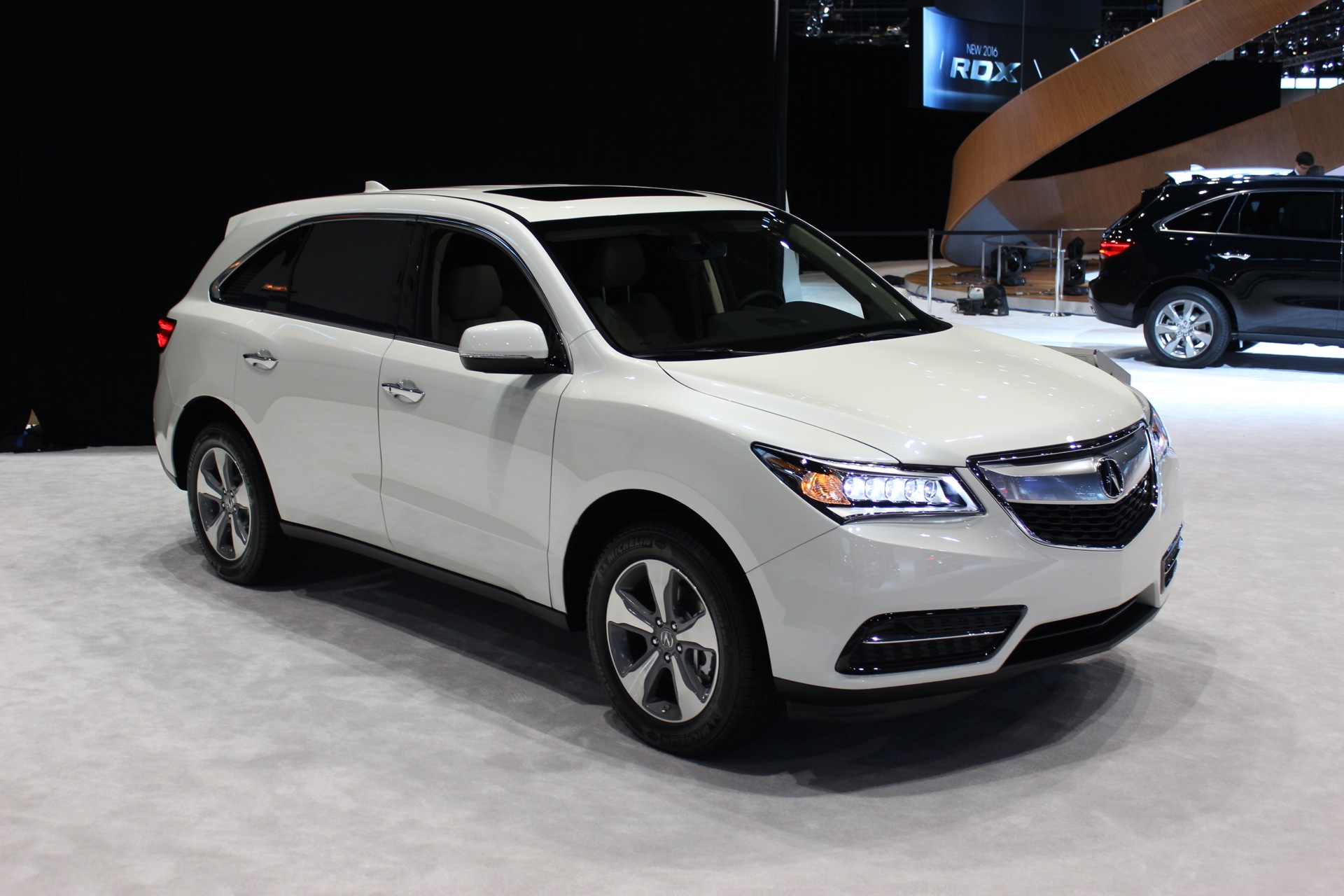 2016 acura mdx summary review   the car connection