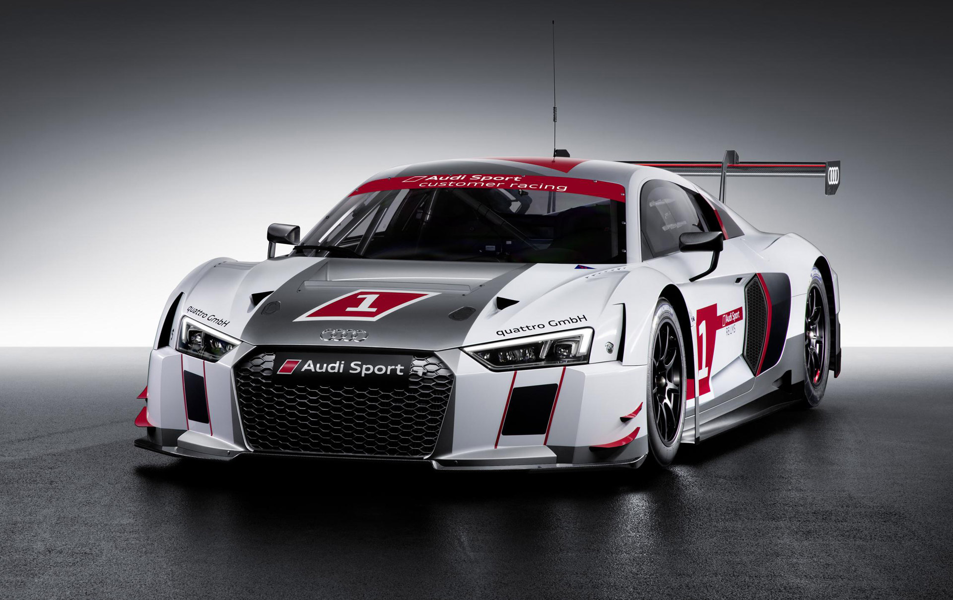 2016 audi r8 lms race car debuts at 2015 geneva motor show. Black Bedroom Furniture Sets. Home Design Ideas
