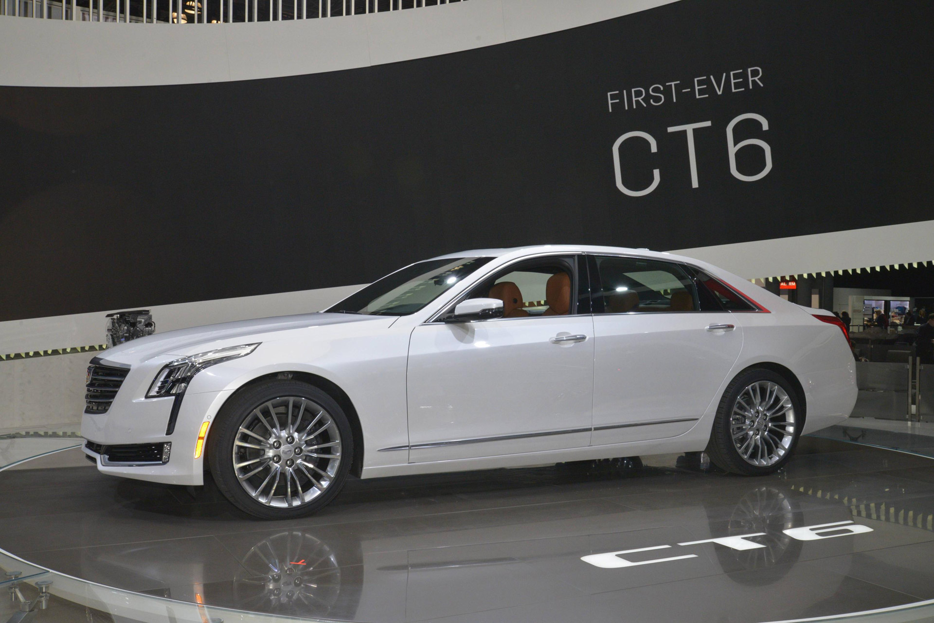 2016 Cadillac Ct6 At New York Auto Show Live Photos