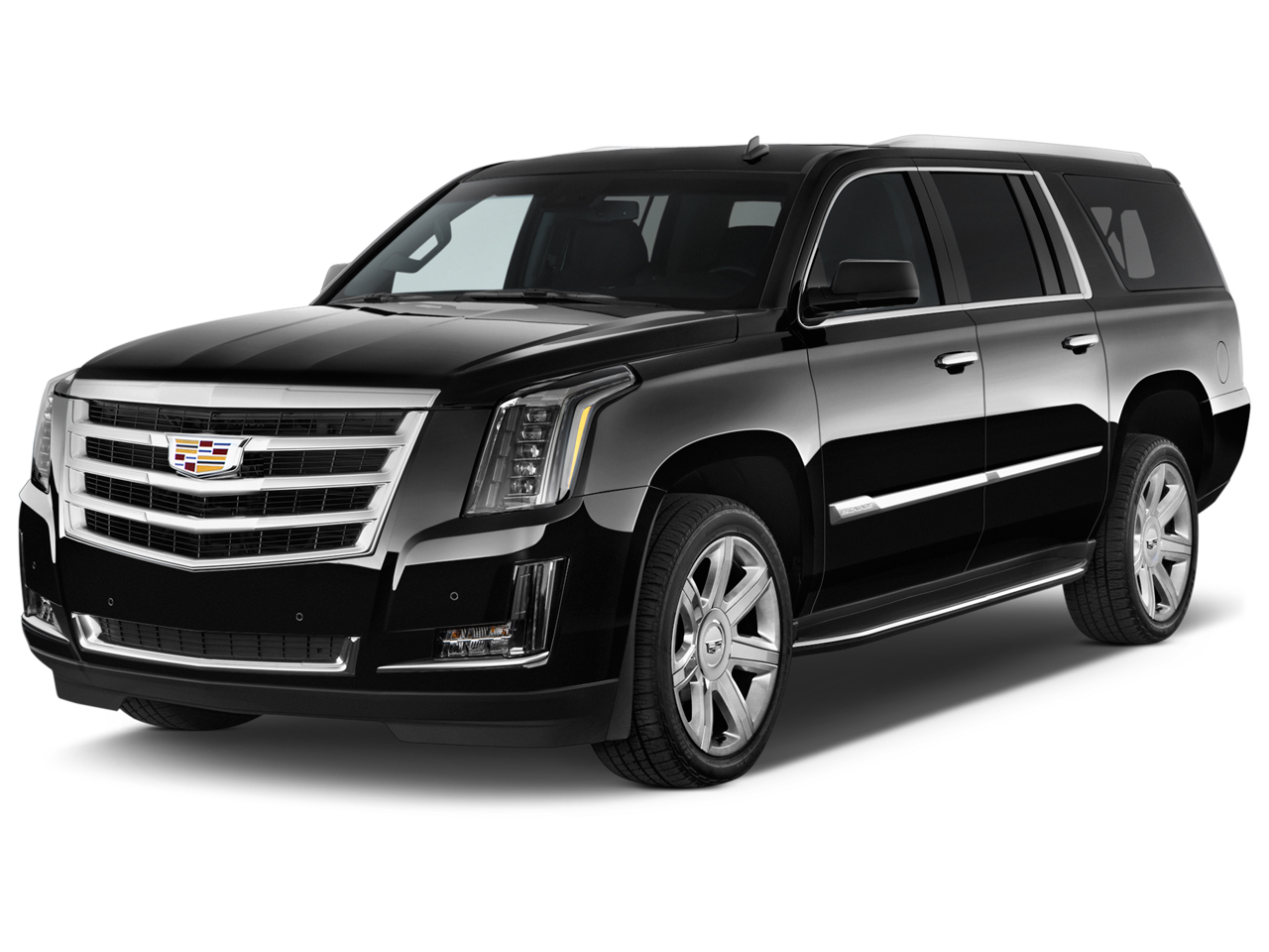 2016 Cadillac Escalade Esv 2wd 4 Door Luxury Angular Front